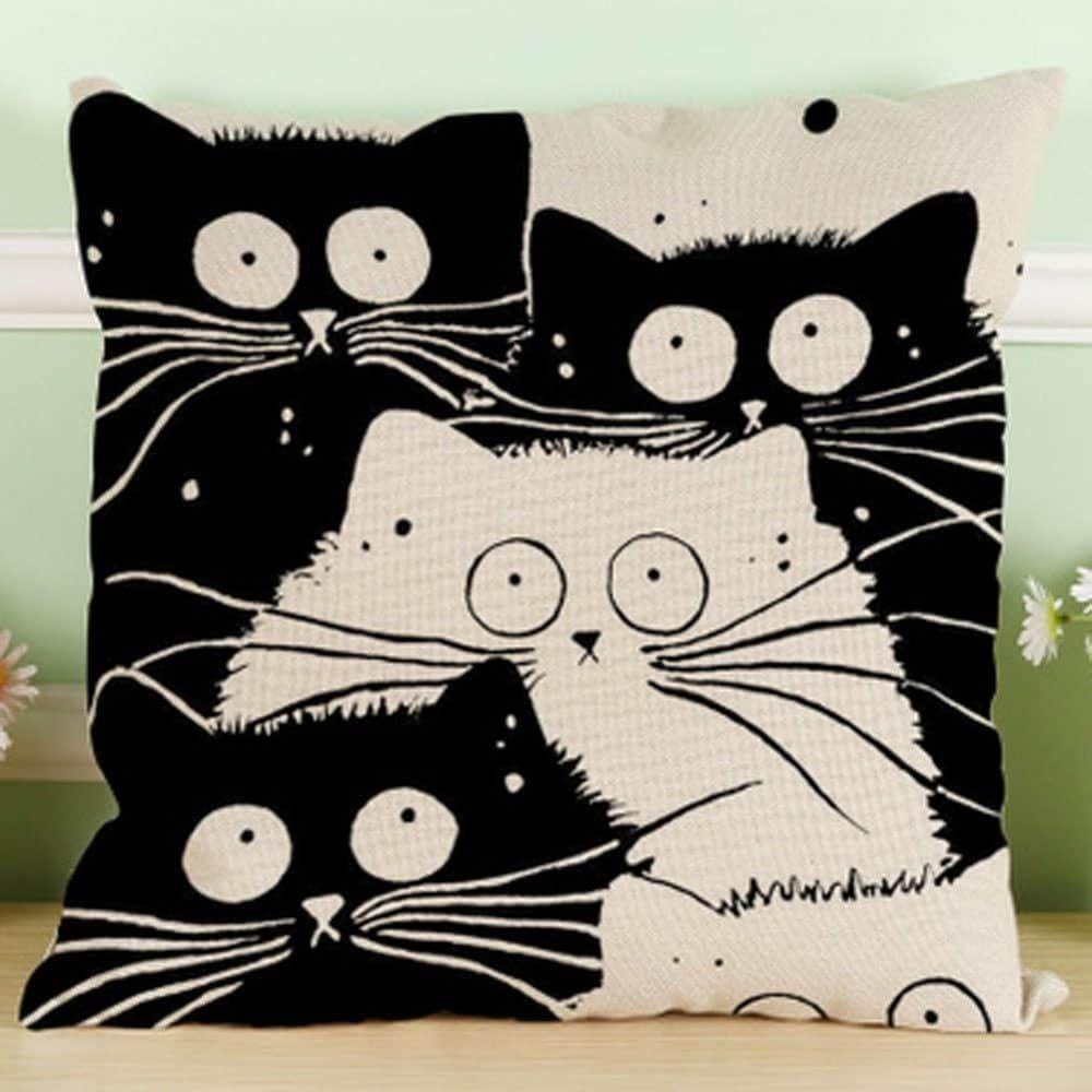 80 x 80 100/% Cotton Pillowcase Cushion Covers Pillow Case Cover Sleeve