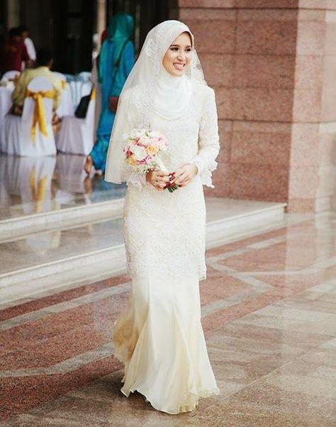 Tetap Cantik Dan Ramah Budget Dengan Simple Wedding Dress Insyaallah