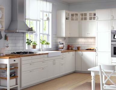 Limpiar muebles de cocina lacados | Hirsitalo | Ikea bodbyn kitchen ...