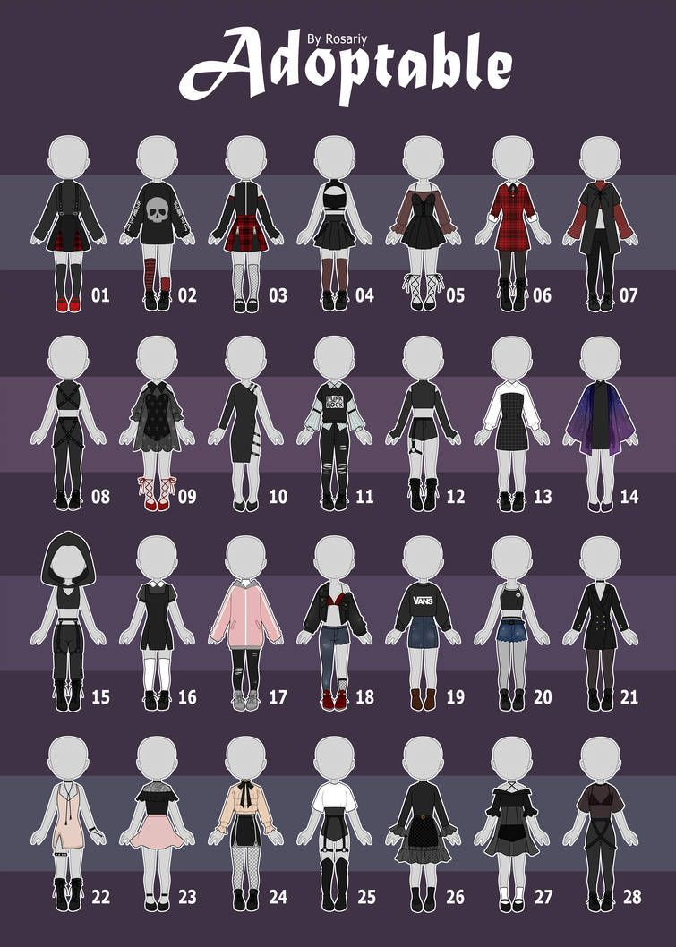 Outfit Adopts ; Outfit Adopts