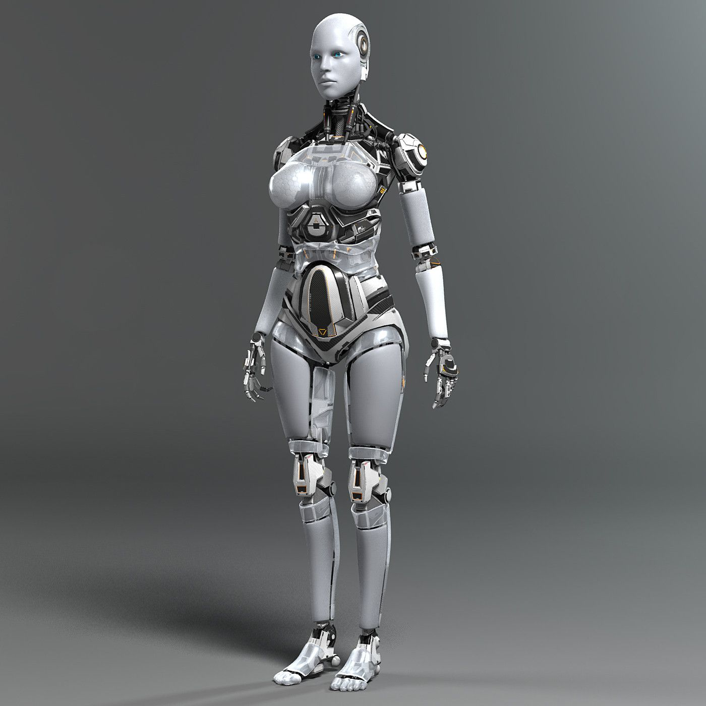Art Modeling Studio Young Girls Models: This High Resolution Photo-realistic Female Robot Is