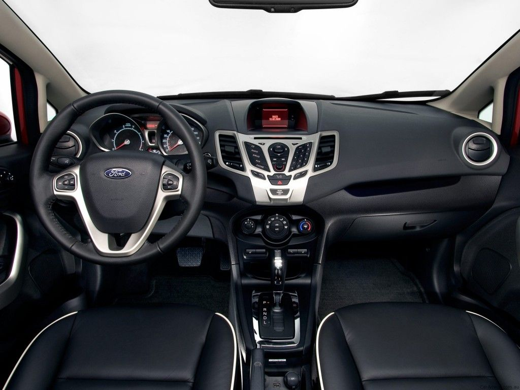Ford Fiesta Sedan Interior Looks