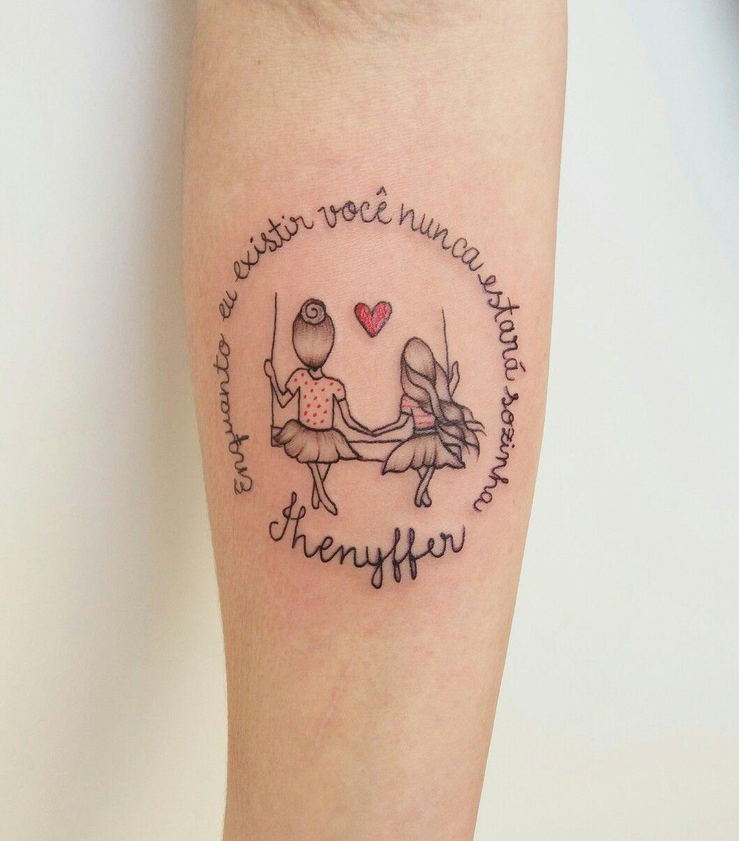 Fotos De Tatuagem De Pai E Filha: Tattoo Mae E Filha