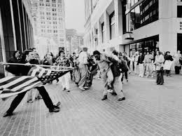 Image Result For White Man Stabs Black Man With American Flag In Boston Race In America Boston History History