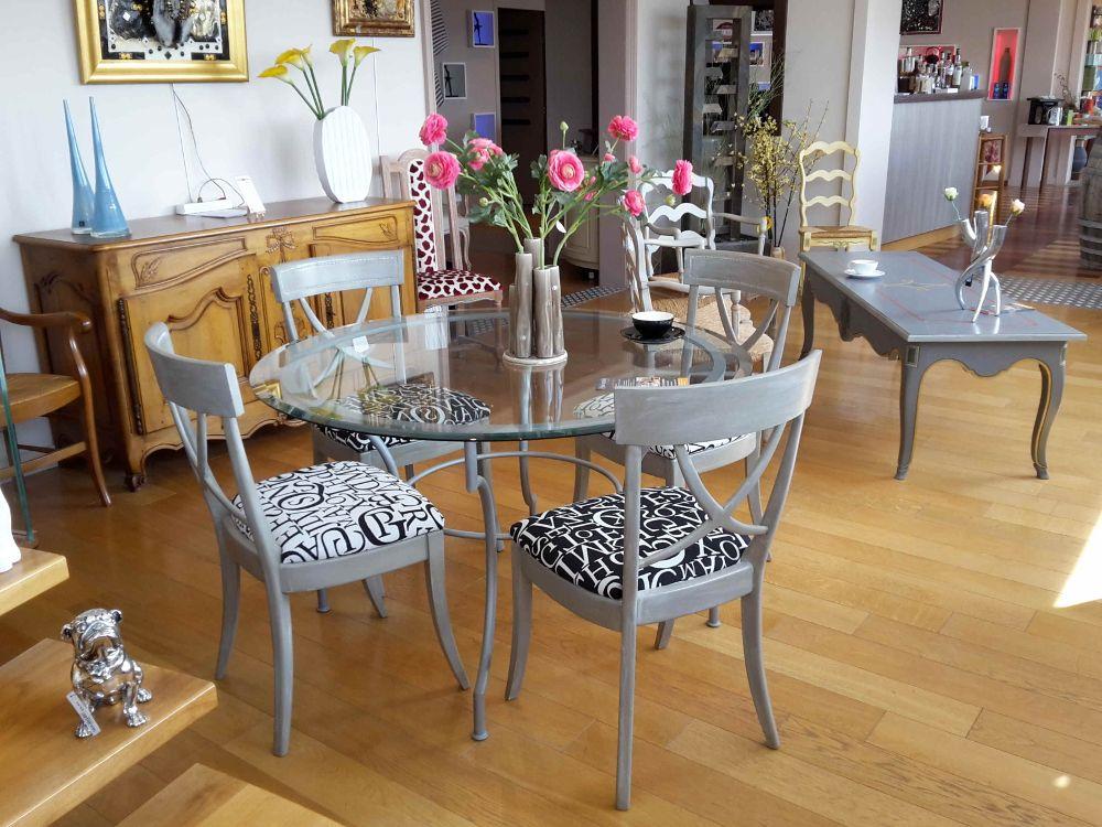 Salon de Thé Table haute Entremondes Espace Bonjean Concept Store Le