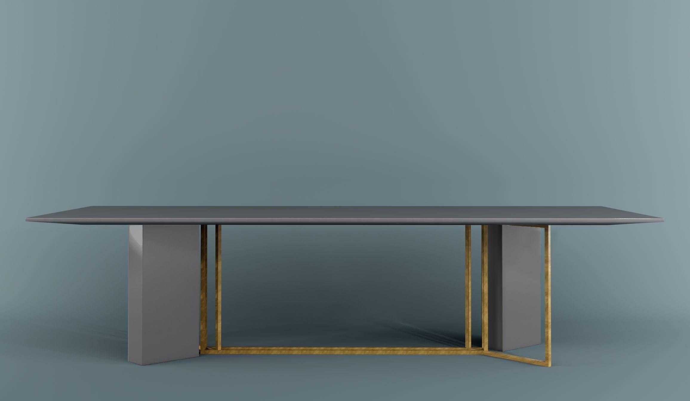 Meridiani arredamento ~ Plinto rectangular table by meridiani design andrea parisio