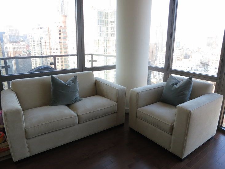Room And Board Ian 65 Quot Taupe Sofa And Chair Home