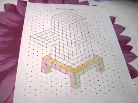 I love Isometric Dot Paper - SafeShareTV Flipped Instruction - isometric graph paper