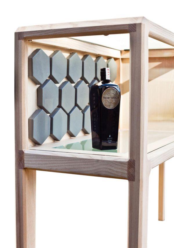 A High End, Handmade Liquor Cabinet by Ian Rouse #Pin_it @Mundo das Casas See more Here: www.mundodascasas