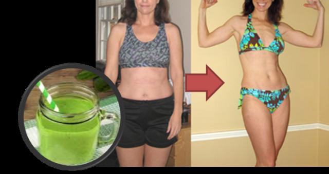 Bebida para quemar grasa abdominal en 4 dias