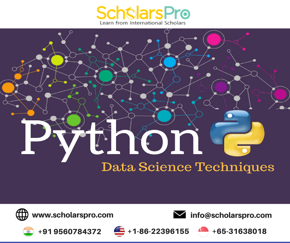 Learn Applied Data Science & Python The ScholarsPro Way