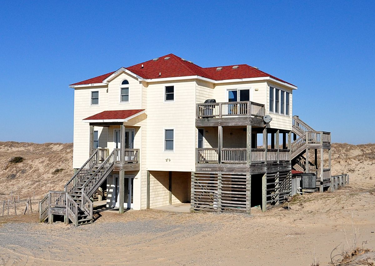 outer banks vacation rentals oceanfront