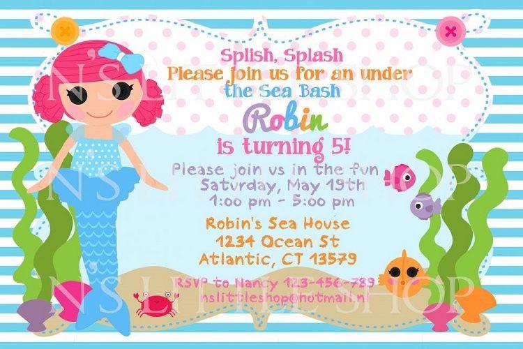 Birthday Invitation Message Card