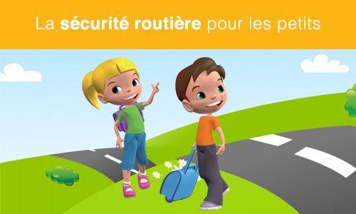 Berühmt Le kit pédagogique : la sécurité routière pour les petits | La  MZ28