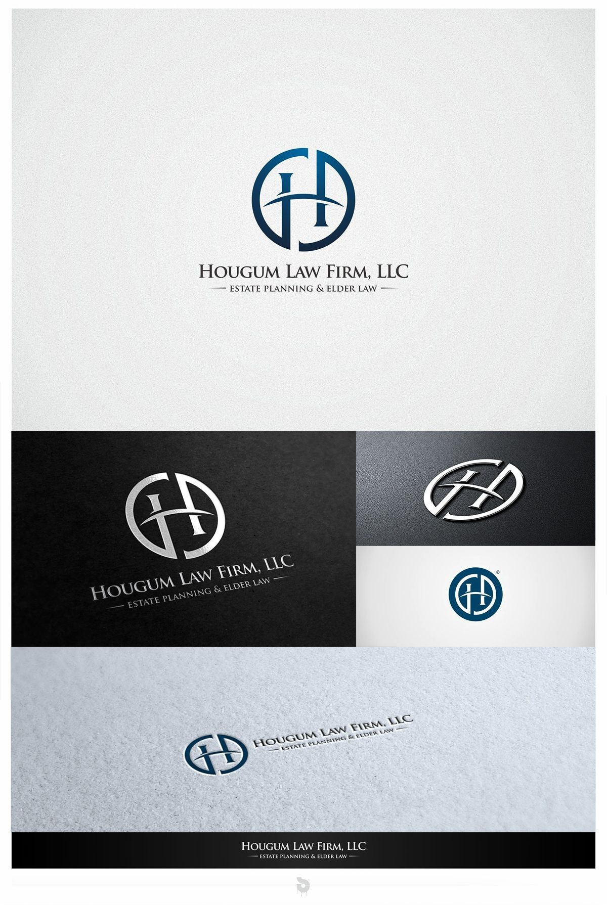 Design 236 by binggolaz New Logo for Hougum Law Firm