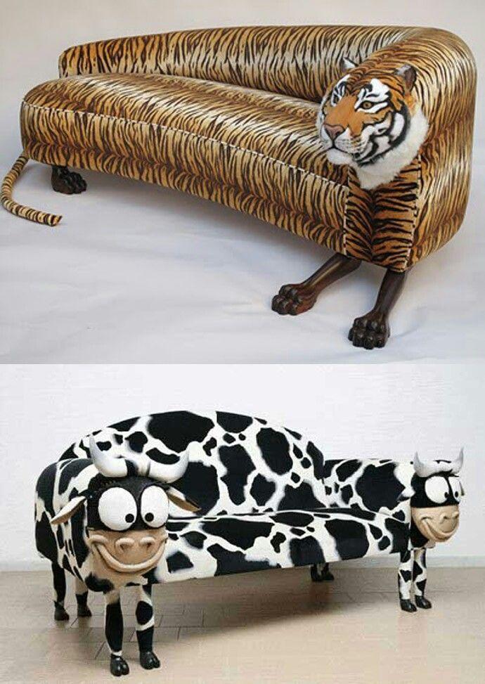 sofas en forma de animales