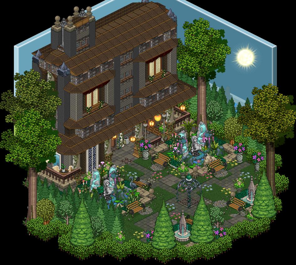 Mansion Garden By Cutiezor On Deviantart Reference
