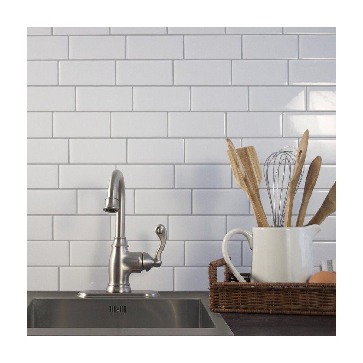 Carrelage Mural Adhesif 3d Smart Tiles Metro Campagnola X6
