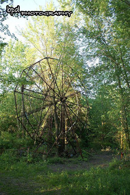 abandoned amusement park. Chippewa Lake Park.
