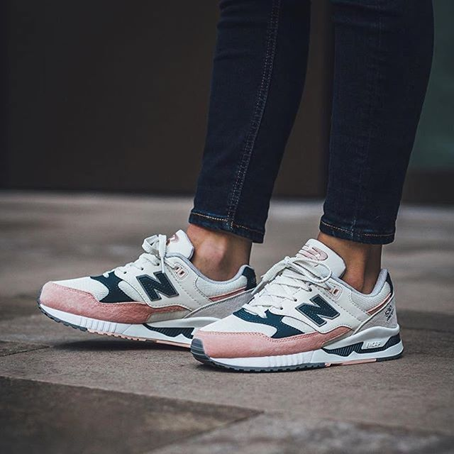 new balance 530 blanche rose