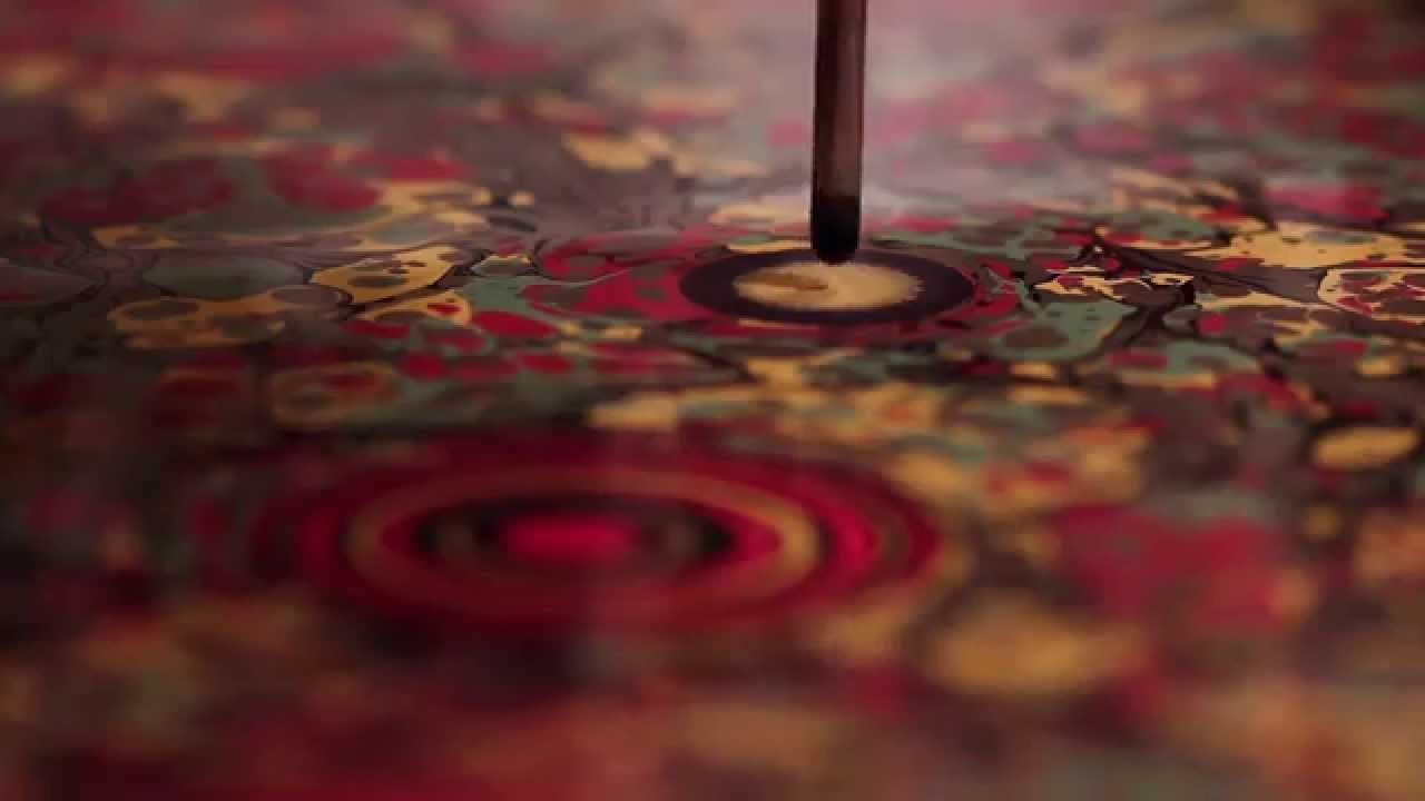 Incredible Marbling By Artist Seyit Uygur I Could Watch This For Hours Marble Paper Ebru Art Ebru