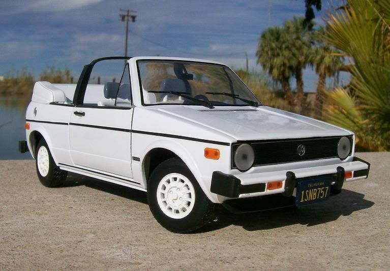 1984 Vw Rabbit Convertible 1985 1987 Volkswagen Cabriolet Made By Sunstar
