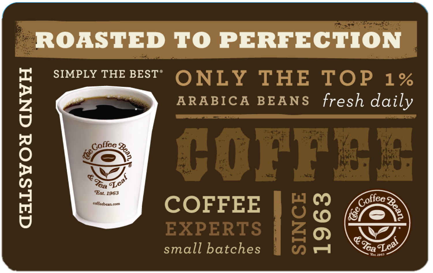 The Coffee Bean Card Coffee Design Gourmet Cafe Coffee Roasting Coffee Design