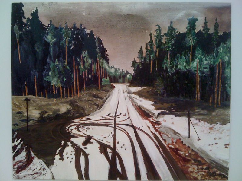 """Mamma Andersson, """"Dead End,"""" 2010"""