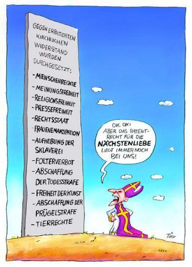 Atheismus Deutschland: Cartoons & Witze #comicsandcartoons