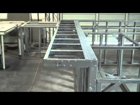 Scottsdale Pre Fab Outdoor Kitchen Frame by BbqCoach com YouTube