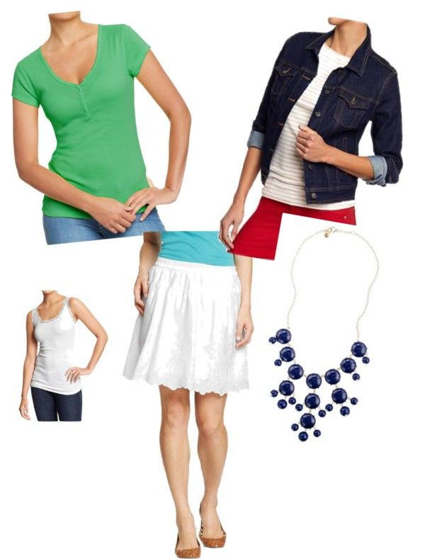 """""""Old Navy Tee - A Little More Dressed Up"""" by megan-linscheid on Polyvore"""