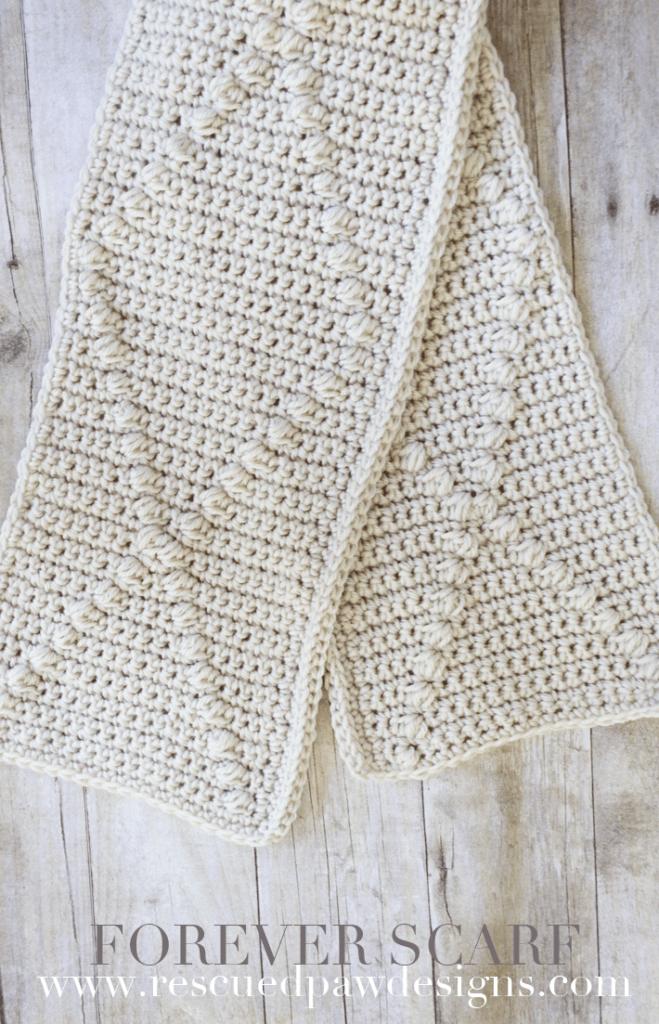 Forever Crochet Scarf Pattern | Crocheting | Pinterest