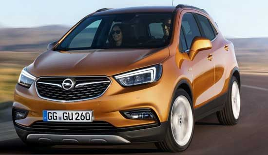 New Opel Mokka X Prepared For 2019 Auto