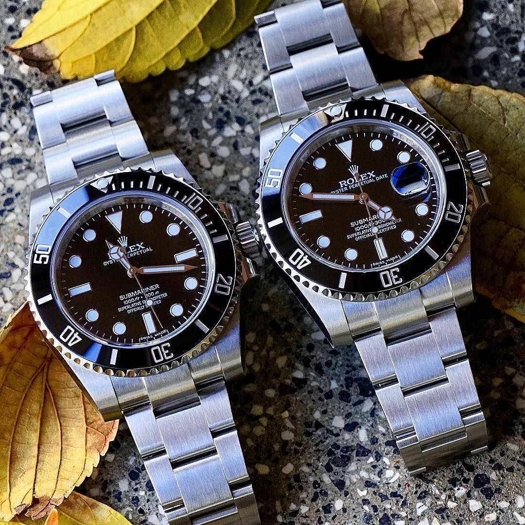 Clic Submariner Desicion No Date 114060 116610 Have A Great Day All Rolex Watches