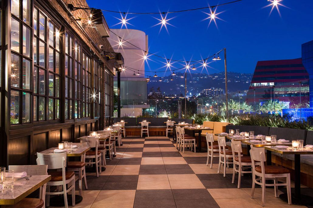 Catch La Hotspot For Celebrities Seafood Elegant Restaurants Rooftop Restaurant La Restaurants