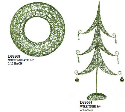 metal christmas tree topiary forms Artificial Wire