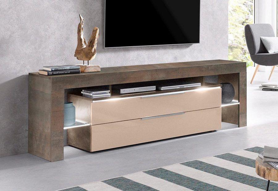 Places Of Style Tv Schrank Lima Breite 163 Cm Tv Hifi Mobel Unterschrank Und Tv Unterschrank