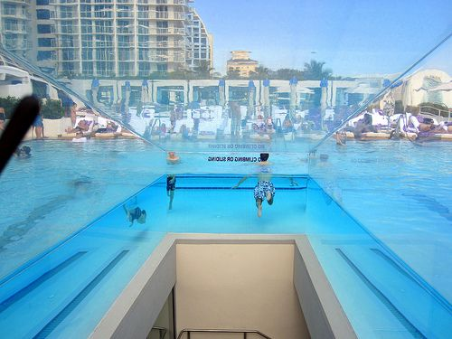 Infinity Pool At W Hotel Ft Lauderdale Florida