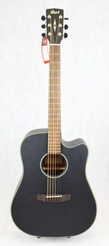 Electro Acoustic Guitar Cort Mr E Black Guitar Electro Acoustic Guitar Acoustic Guitar