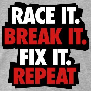 race it repeat sticker by nektarinchen - Racing T Shirt Design Ideas