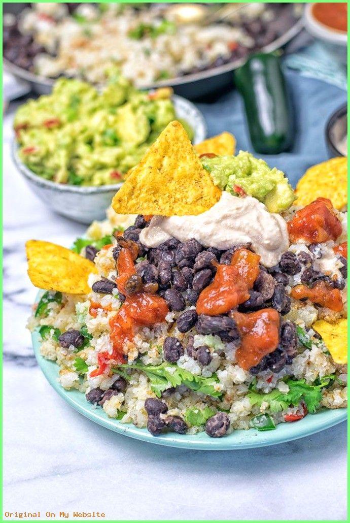 Buddha Bowl Sauce: Mexican Fiesta Cauliflower Rice | Buddha Bowl Sauce: Mexican Fiesta Cauliflower Rice |