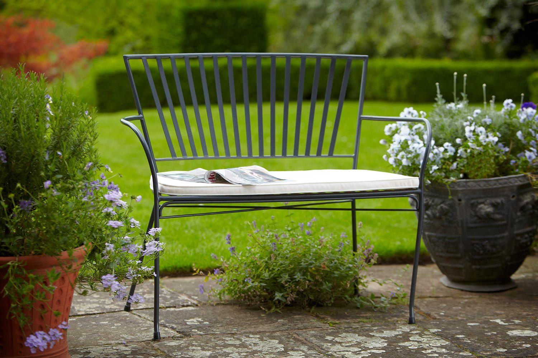 Hartman Anwen Bench   Metal Garden Furniture Link:  Http://www.hayesgardenworld.co.uk/product/hartman Anwen Bench Metal Garden  Furniture | アイアン ...