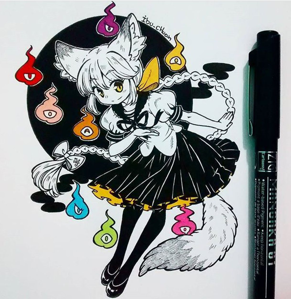 Nya~@ibu_chuan Instagram | Art | Pinterest | Instagram, Anime and Chibi