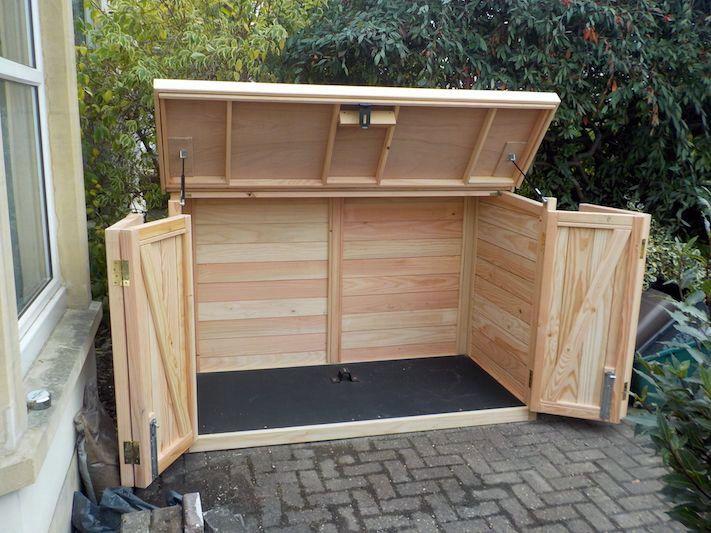 Garden Storage Ideas You Ll Want You D Known About Before Abri Velo Rangement Jardin Jardins Verticaux Interieurs