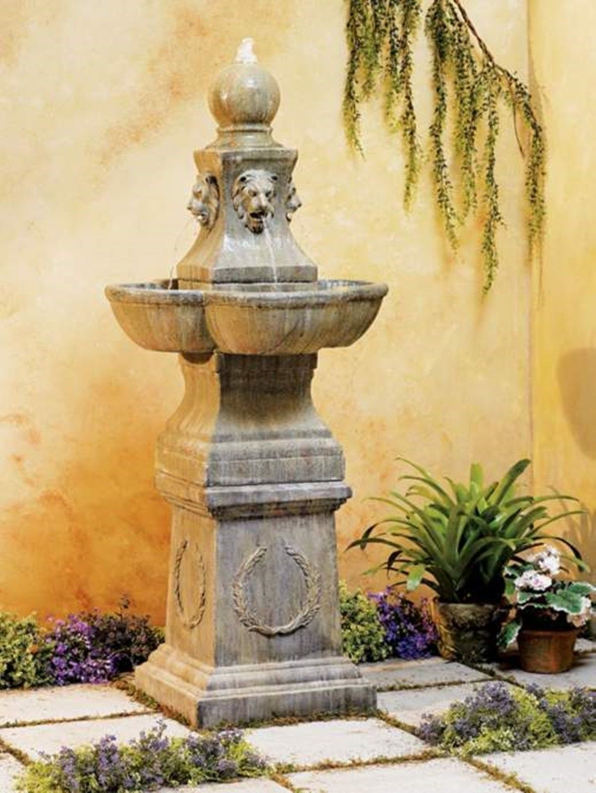 Tuscan Outdoor Water Fountains | Home design ideas