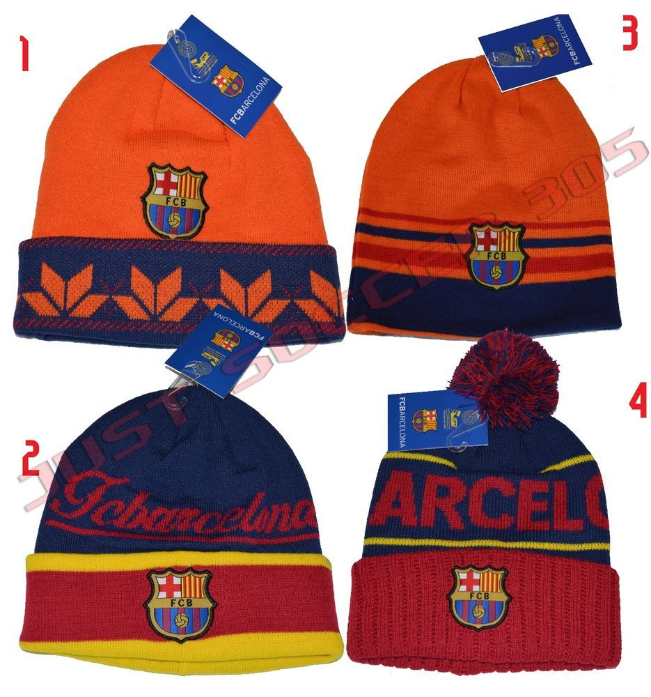 fa262e7dabe FC BARCELONA BEANIE OFFICIAL WINTER SKULL CAP AUTHENTIC  RHINOX  FCBarcelona