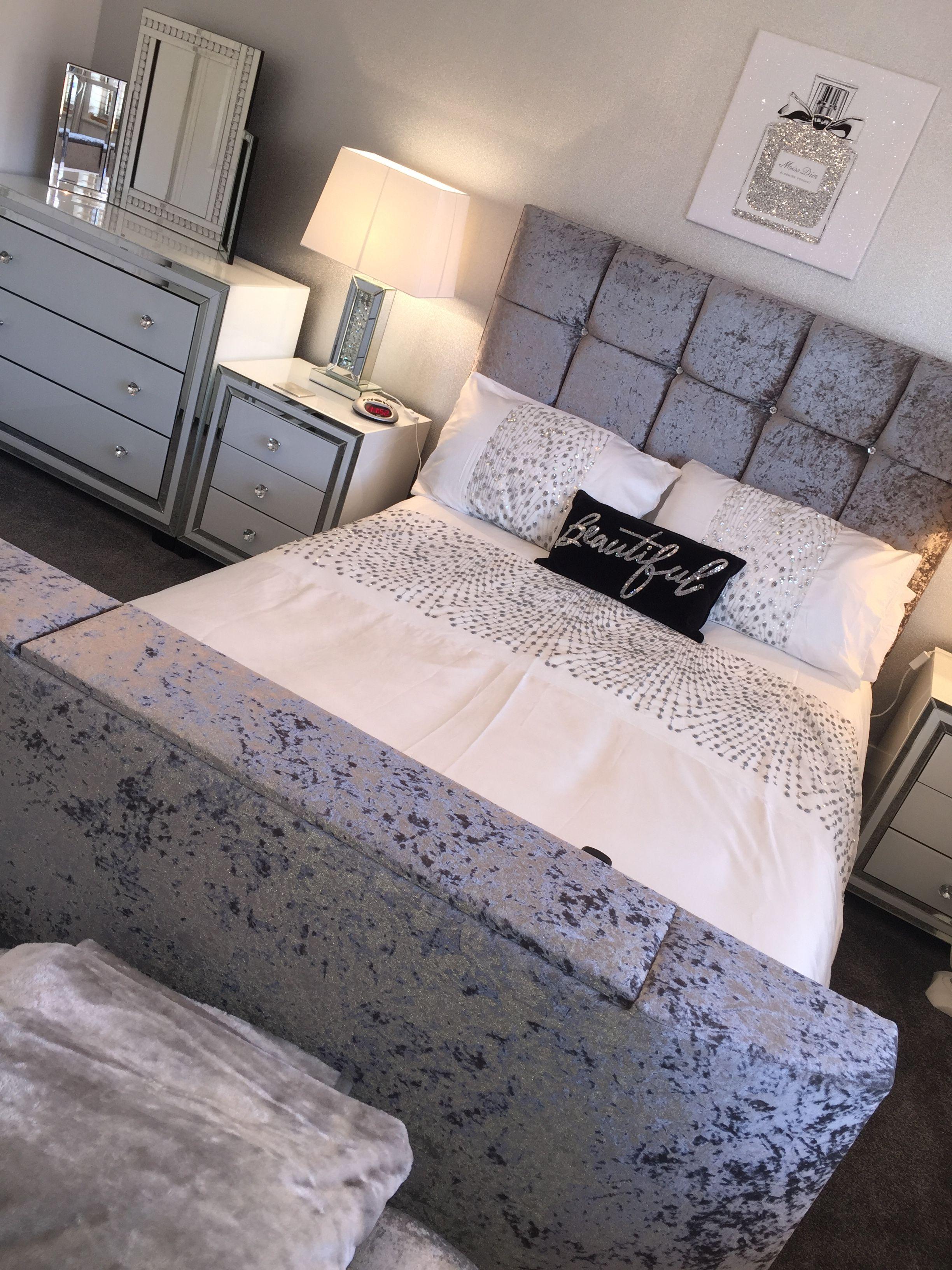 49+ Velvet bedroom furniture ideas