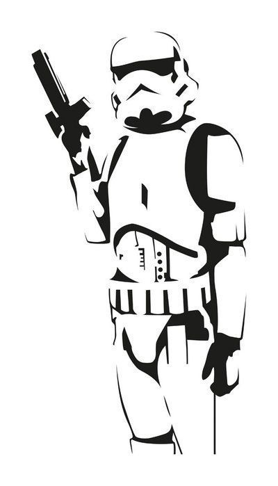 Stormtrooper Vector : stormtrooper, vector, Airbrushing, Decal,, Stencil,, Stormtrooper