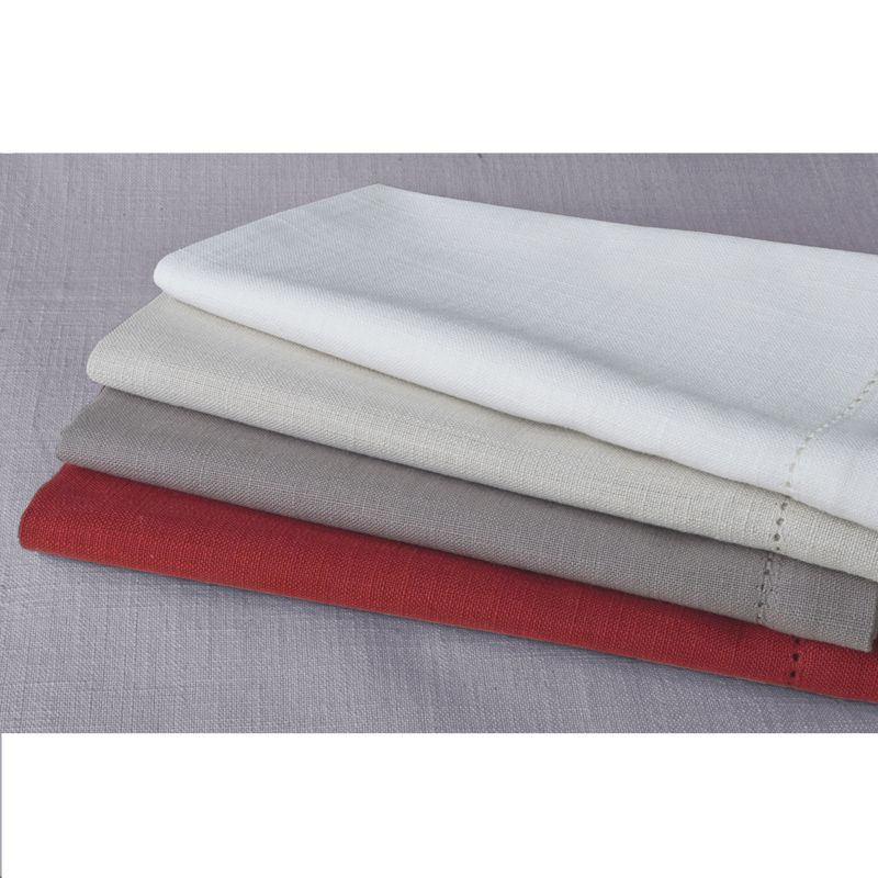 100% cotton napkins in a range of fresh colours.  A staple essential.