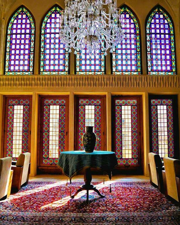 Traditional Iranian Interior Design Kashan Central Iran A1